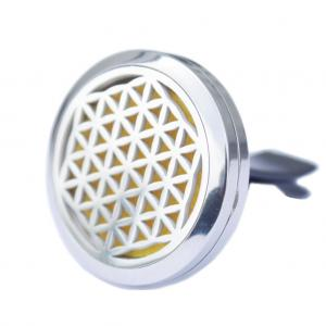 Ancient Wisdom s.r.o. Doftspridare för Bil - Flower of Life - 30mm