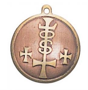 Regnbågsvävar Amulett - Styrka, Kraft och Rikedom