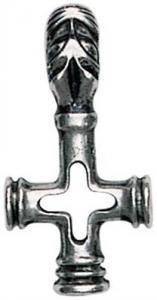 Regnbågsvävar Halsband - Vargkors