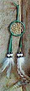 Regnbågsvävar Drömfångare 5 cm, grön