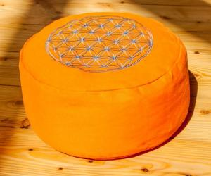 Berk Esoterik Flower of Life Meditationskudde - Orange