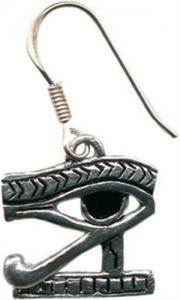 Regnbågsvävar Örhängen, Eye of Horus