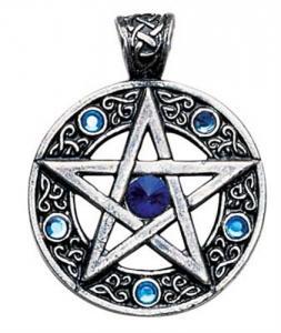 Regnbågsvävar Hängsmycke, Keltiskt pentagram