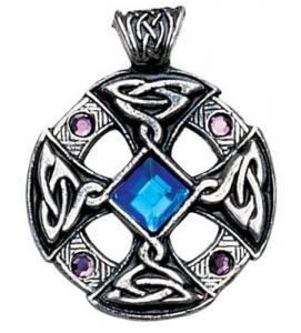 Regnbågsvävar Hängsmycke, Keltiskt kors