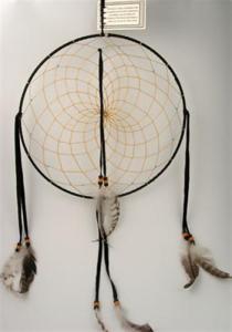Regnbågsvävar Drömfångare 30 cm, svart