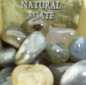 Lo Scarabeo Naturlig Agat - Natural Agate