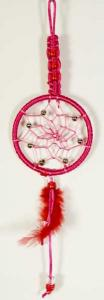 Cleo Dream Catcher Braided Red