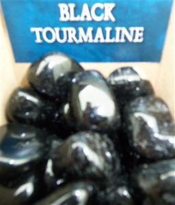 Lo Scarabeo Svart Turmalin - Black Tourmaline