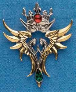 Regnbågsvävar Halsband - Angels of Oberon, Kärlek