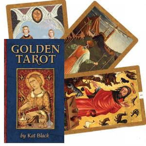US Games Systems Golden Tarot of Kat Black