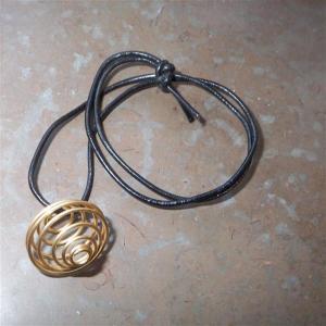 eKnallen Spiral för trumlad sten, guldfärgad
