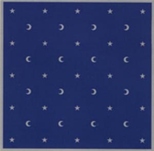 Lo Scarabeo Tarotduk sammet - Moon & Stars
