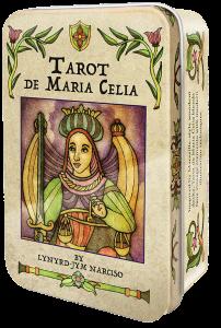US Games Systems Tarot de Maria Celia, Plåt