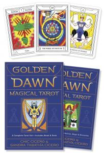 Llewellyn Golden Dawn Magical Tarot, Set