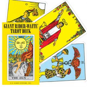US Games Systems Giant Rider-Waite Tarot Deck