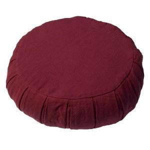 Regnbågsvävar Meditationskudde - Bovete, Röd