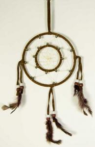 Cleo Dream Catcher Circles Brown