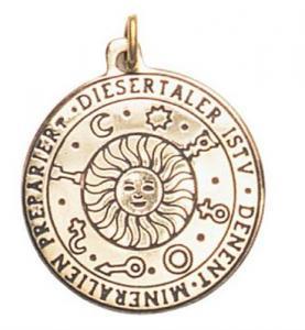 Regnbågsvävar Amulett - Soltalisman