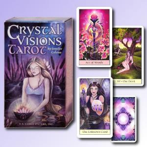 US Games Systems Crystal Visions Tarot