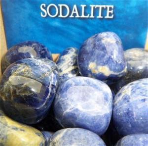 Regnbågsvävar Sodalit - Sodalite