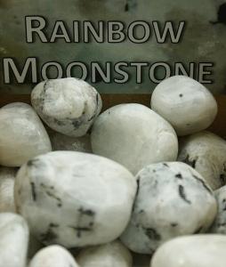 eKnallen Regnbågsmånsten - Rainbow Moonstone