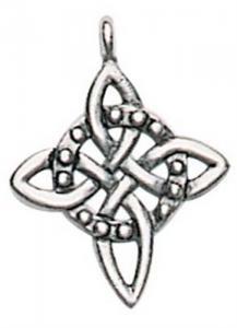 Regnbågsvävar Halsband - Nordiska knuten