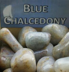 eKnallen Blå Kalcedon - Blue Chalcedony