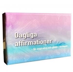 Stjärndistribution Dagliga affirmationer - för inspiration och glädje i vardagen