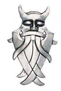 Regnbågsvävar Halsband - Odens mask