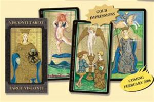 Lo Scarabeo Golden Tarot Of Visconti, Maxi