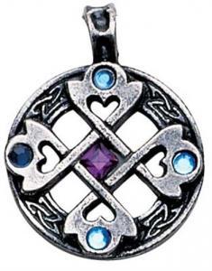 Regnbågsvävar Hängsmycke, Keltiskt hjärtkors