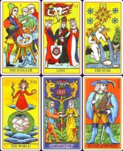 Lo Scarabeo Dame Fortune's Wheel Tarot
