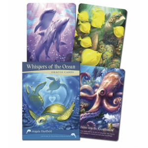 Blue Angel Whispers of the Ocean oracle cards