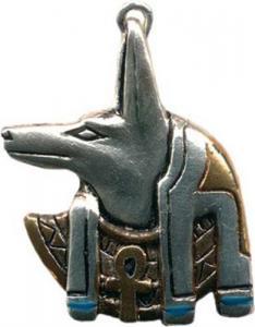 Regnbågsvävar Halsband - Anubis