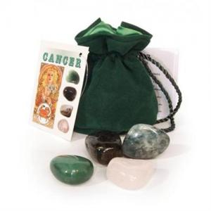 Lo Scarabeo Kräftan-Cancer, astrologiska kristall-talismaner
