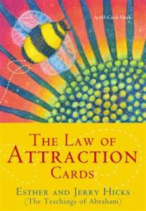 Regnbågsvävar The Law of Attraction Cards