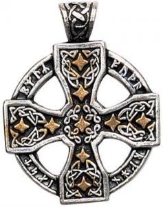 Regnbågsvävar Hängsmycke, Keltiskt runkors