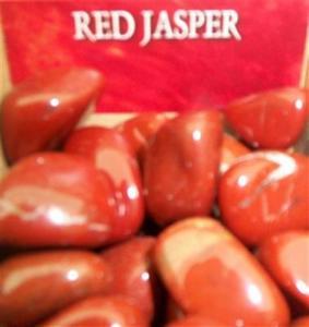 Regnbågsvävar Röd Jaspis - Red Jasper