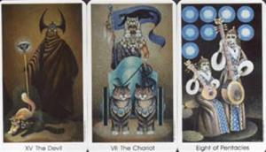 US Games Systems Tarot Of The Cat People