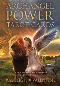 Regnbågsvävar Archangel Power Tarot Cards