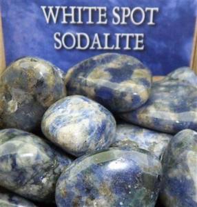 Lo Scarabeo Sodalit - White Spot Sodalite