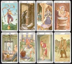 Lo Scarabeo Tarot Of The 78 Doors