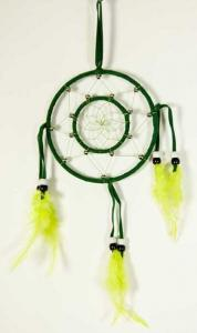 Cleo Dream Catcher Circles Green
