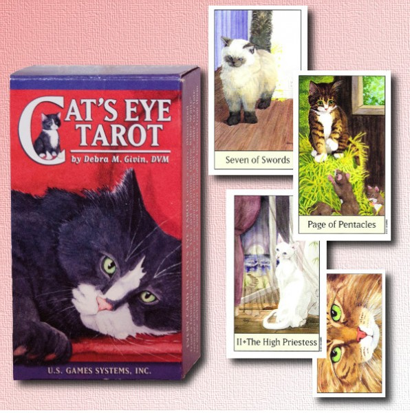 US Games Systems Cat's Eye Tarot