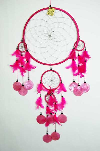 Cleo Dream Catcher Discs, Lila 30 cm