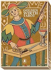 Lo Scarabeo Golden Tarot of Wirth, Maxi