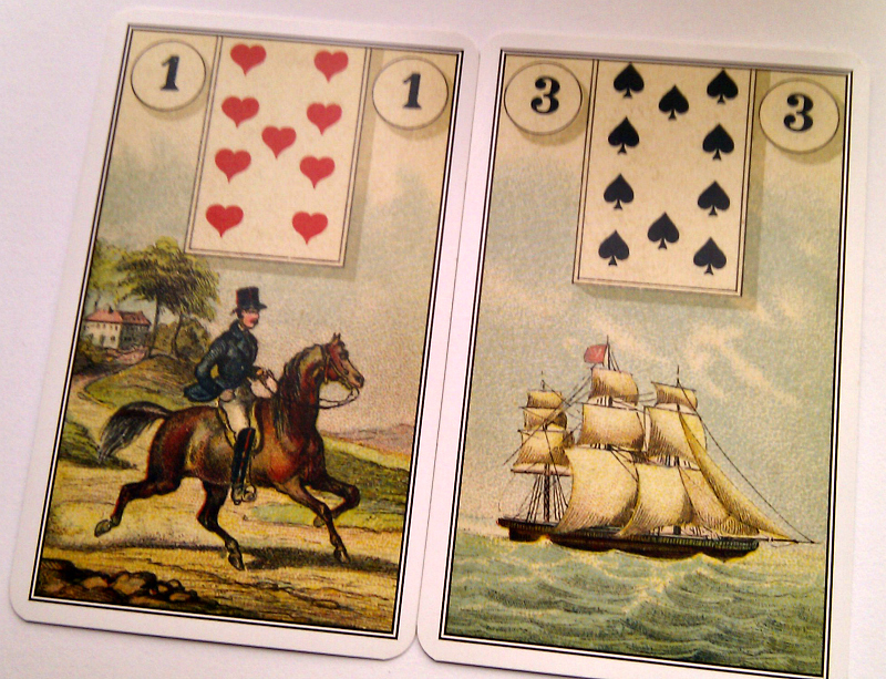 Llewellyn Easy Lenormand