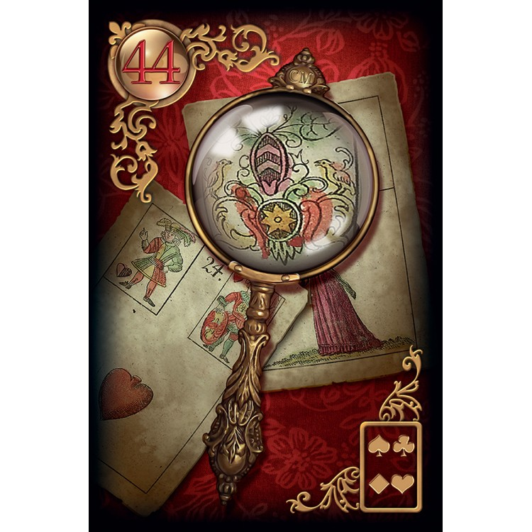 US Games Systems Gilded Reverie Lenormand - Expanded