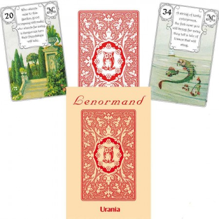 AGM Mlle Lenormand - Red Owl